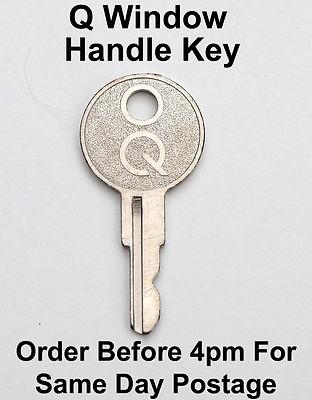 Lost upvc window key